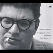 Feldman: String Quartet No.1; Three Pieces; Structures / Flux Quartet