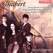 Schubert: String Quartets no 8, 9 & 10 / Sorrel Quartet