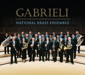 Gabrieli - Music for Brass Ensemble: 16 pieces by Giovanni Gabrieli, including his Sacrae symphoniae (1597) and a work by John Williams: Music for Brass / National Brass Ensemble