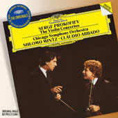 Serge Prokofiev: The Violin Concertos Nos. 1 & 2 / Shlomo Mintz, violin; Chicago SO, Claudio Abbado