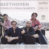 Beethoven: Complete String Quartets, Vol. 6 - String Quartets Op. 18/5; Op. 130 / Quartetto di Cremona
