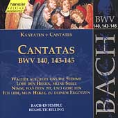 Edition Bachakademie Vol 44 - Cantatas BWV 140, 143-145