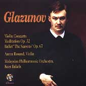 Glazunov: Violin Concerto, Meditation, etc / Rosand, et al