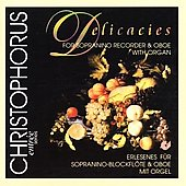 Delicacies for Sopranino Recorder, Oboe and Organ