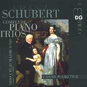 Schubert: Complete Piano Trios Vol 1 / Vienna Piano Trio