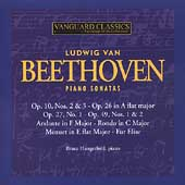 Beethoven: Piano Sonatas, etc / Bruce Hungerford