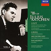 The Art of Julius Katchen Vol 4 - Liszt, Grieg, etc/ Argenta