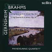 Brahms, Gernsheim: String Quartets / Mandelring Quartet