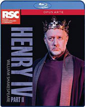 William Shakespeare: Henry IV, Part II / Royal Shakespeare Company; Gregory Doran [Blu-Ray]
