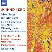 Schoenberg: Five Pieces, etc / Sherry, Craft, et al
