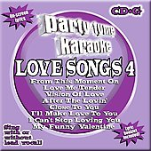 Sybersound: Party Tyme Karaoke: Love Songs, Vol. 4