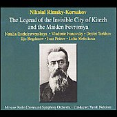 Rimsky-Korsakov: Invisible City of Kitezh, etc / Petrov
