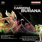 Orff: Carmina Burana / Hickox, Claycomb, Banks, Maltman, London SO, et al