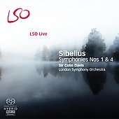 Sibelius: Symphonies no 1 & 4 / Colin Davis, London SO