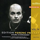 Edition Ferenc Fricsay Vol 4 - Tchaikovsky, Liszt: Piano Concerti / Fricsay, Cherkassy, et al