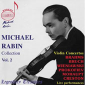 Legendary Treasures - Michael Rabin Collection Vol 2