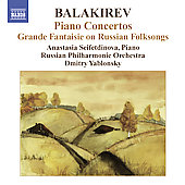 Balakirev: Piano Concertos 1 & 2 / Yablonsky, Seifetdinova, et al