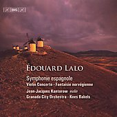 Edouard Lalo: Works for Violin and Orchestra / Jean-Jacques Kantorow, Kees Bakels, Granada City Orchestra