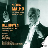 Beethoven: Leonore Overture no 3, etc / Malko, Danish Radio SO