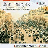 ~Francaix: Heure du berger; Theme and Variations
