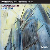 Bach: Piano Transcriptions Vol. 8