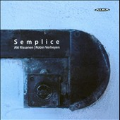 Semplice: Finnish-Belgian Chamber Jazz
