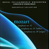 Mozart: Symphonies Nos. 32, 35 & 38 / Shelley