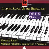 Deux Pianos - Mozart, Ravel, Bartók et al / Sainz, Bergaglio