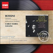Rossini: Overtures / Carlo Maria Giulini