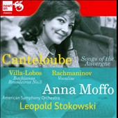 Canteloube: Songs of the Auvergne; Rachmaninov: Vocalise / Anna Moffo, soprano