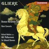 Gliere: Bronze Horseman, Horn Concerto / Downes, Watkins
