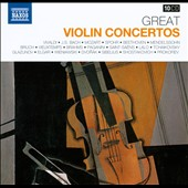 Great Violin Concertos - Vivaldi, Bach, Mozart, Spohr, Paganini, Lalo et al. [10 CDs]