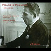 Francis Poulenc: M&eacute;lodies