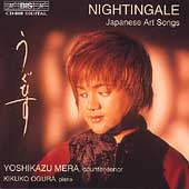 Nightingale - Japanese Art Songs / Yoshikazu Mera, Ogura