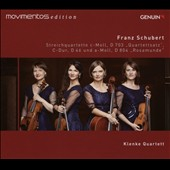 Schubert: String Quartets, D. 703, D. 46 & D 804