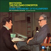 Beethoven: The Five Piano Concertos; The Choral Fantasia / Daniel Barenboim, piano; New Philharmonia Orch., Klemperer (rec. 1967-68)