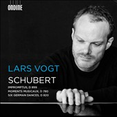 Schubert: Impromptus, D 899; Moments Musicaux, D 780; Six German Dances, D 820 / Lars Vogt, piano