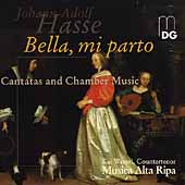 Hasse: Bella mi parto, etc / Wessel, Musica Alta Ripa