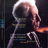 Rubinstein Collection Vol 24 - Mendelssohn, Brahms