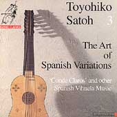 The Art of Spanish Variations / Toyohiko Satoh