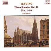 Haydn: Piano Sonatas Vol 10 - Sonatas no 1-10 / J&eacute;n&ouml; Jand&oacute;
