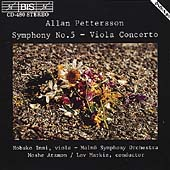 Petterson: Symphony no 5, Viola Concerto / Imai, Atzmon