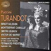 Puccini: Turandot / Previtali, Nilsson, Caball&#233;, et al