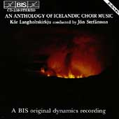 An Anthology of Icelandic Choir Music / Jón Stefánsson