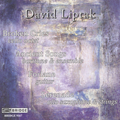 Music of David Liptak / Lubman, Tarab Cello Ensemble