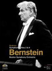 Bernstein conducts Brahms / Symphonies Nos. 2 & 4 / Boston Symphony Orchestra [DVD]