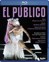 El Publico (The Audience), an opera under the sand in 5 scenes (Music by Mauricio Sotelo, b.1961) / Thomas Tatzl, Jesus Mendez, Ruben Olmo, Antonio Lozano [Blu-ray]