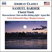 American Classics - Barber: Choral Music