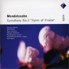 Mendelssohn: Symphony No.2 'hymn Of Praise'