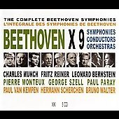 Beethoven: Symphonies 1-9 / Munch, Reiner, Bernstein, et al